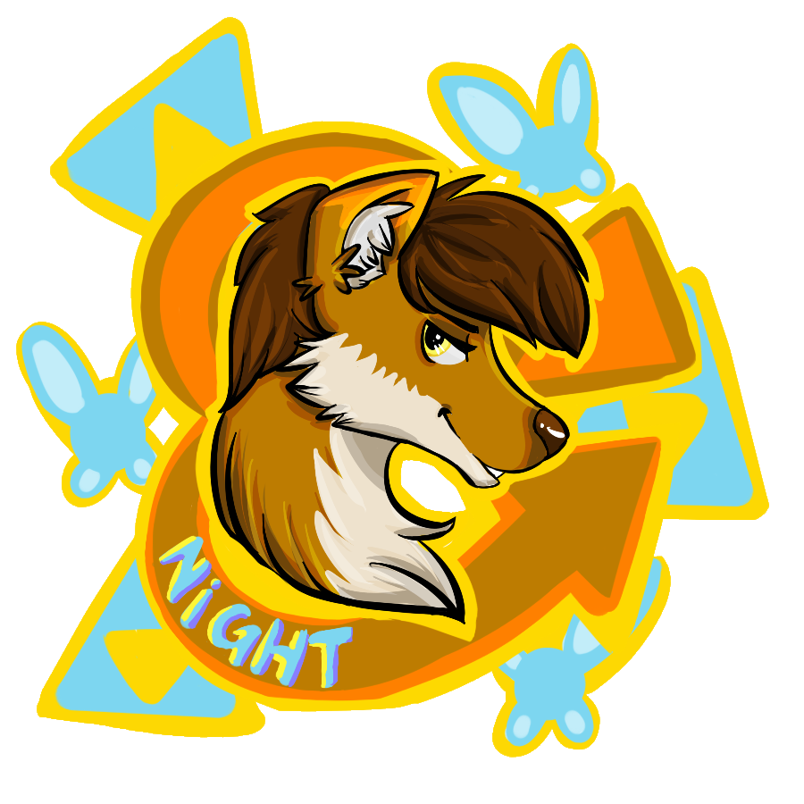 Night [Conbadge]