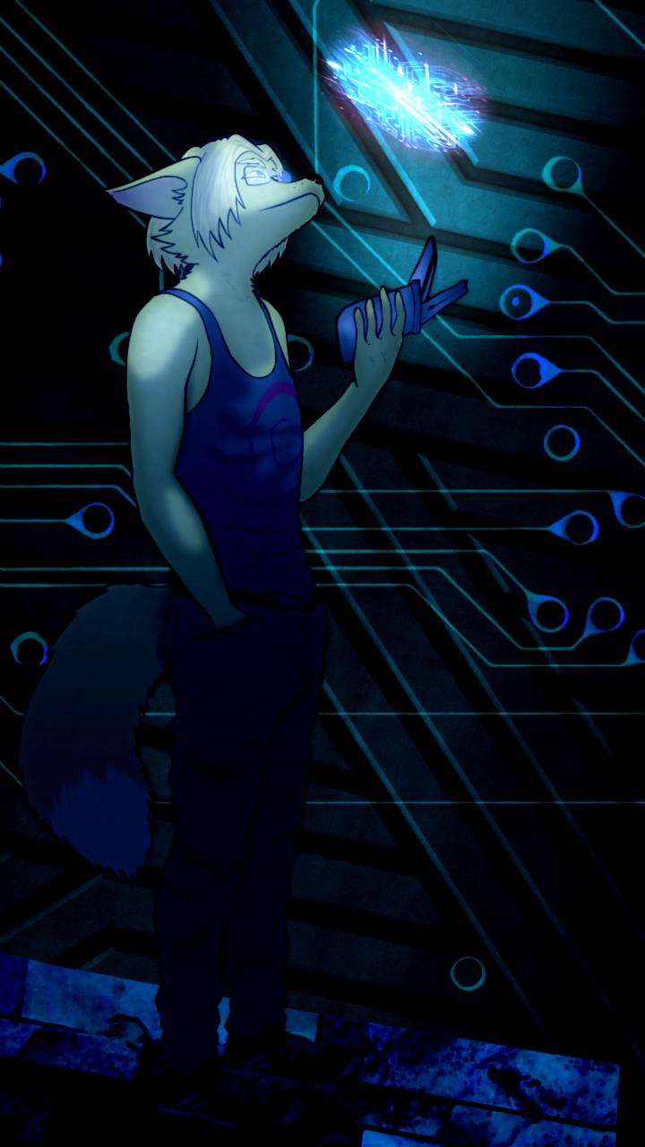 Commission - DigitalFox