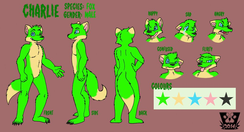 Featured image: Charlie Reference Sheet
