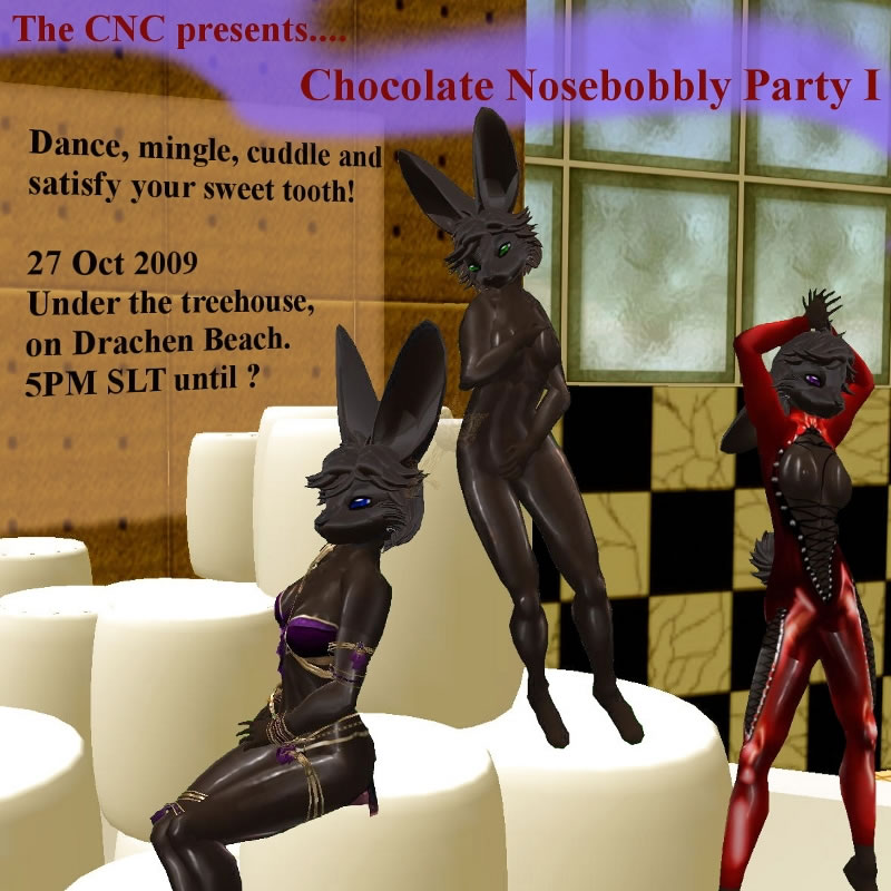 SL Chocolate NoseBobbly Party
