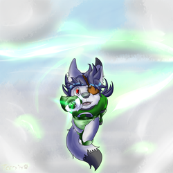 Lil lantern in flight