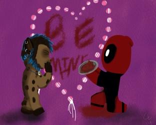 Valentine's Day Fuku & Deadpool