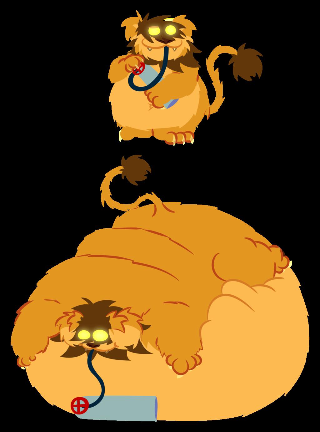 Lionbutt goes FWOOOMP