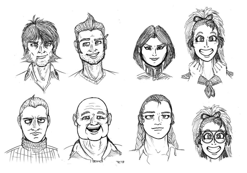 Avania - Human Faces