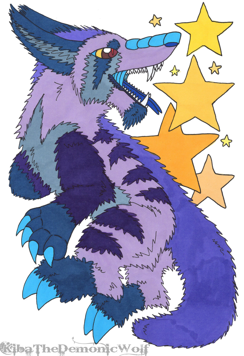 Star Eater Fox Creature