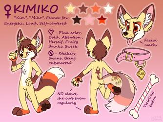 Kimiko reference sheet