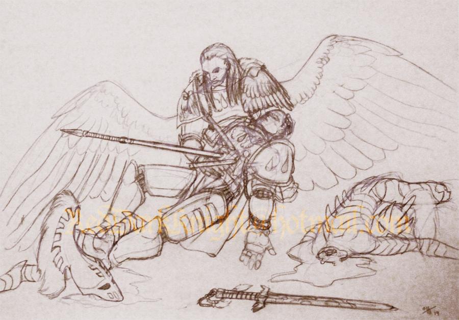 Most recent image: Sketch: Lamentation
