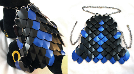 Black and Blue 1.0 Critter Armour