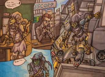 Green Goblin Doodles 2