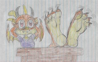 Jewel Present Her Big Feet