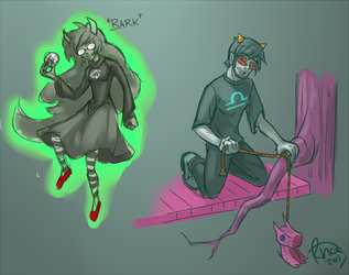 Homestuck doodles