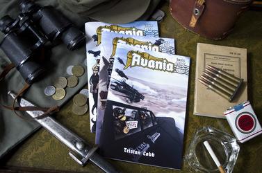 Avania Comic - Third Print Proofs