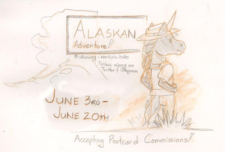 Travel Postcards: Alaska Edition