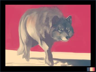 speedpaint- wolf - 30min