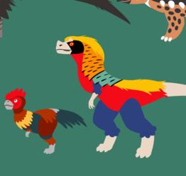 birdino character pitch