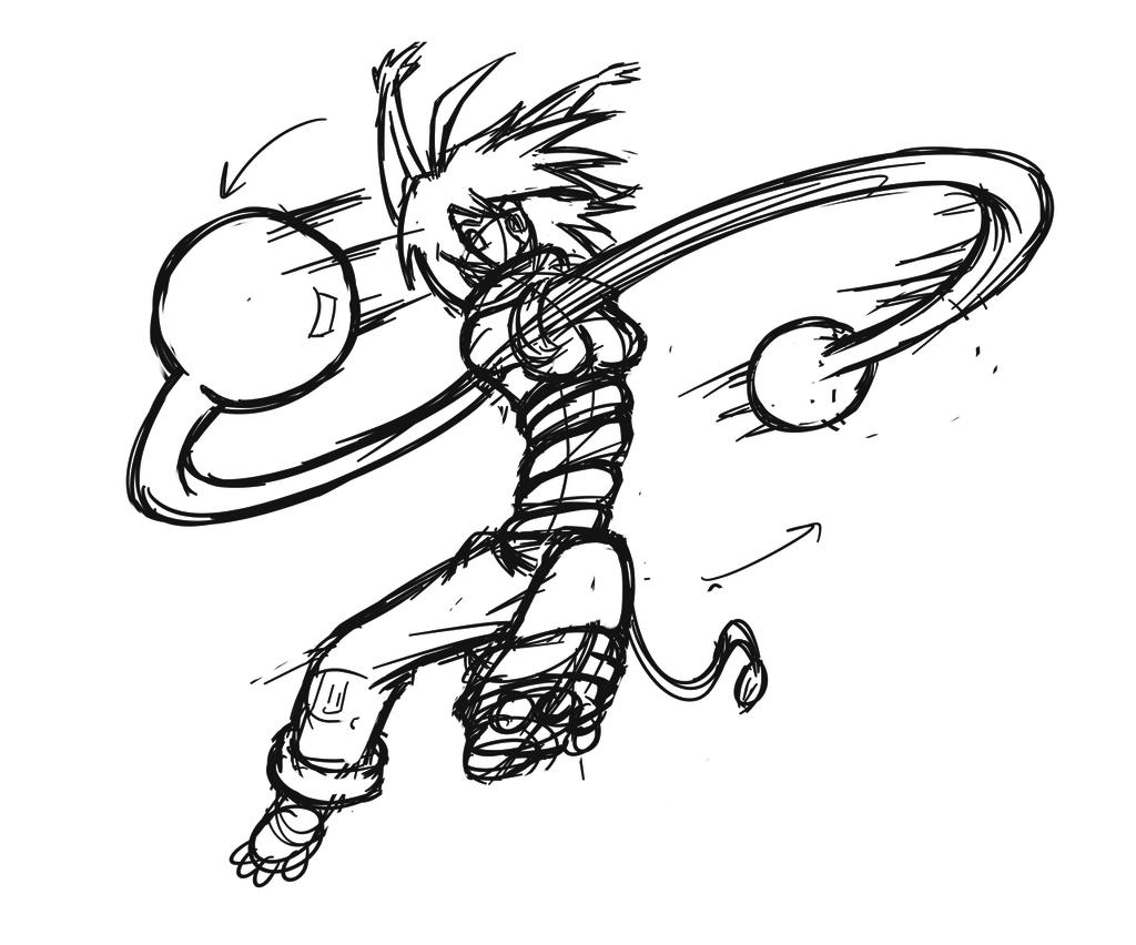Random Doodles #23 - Mia's Final Spin!