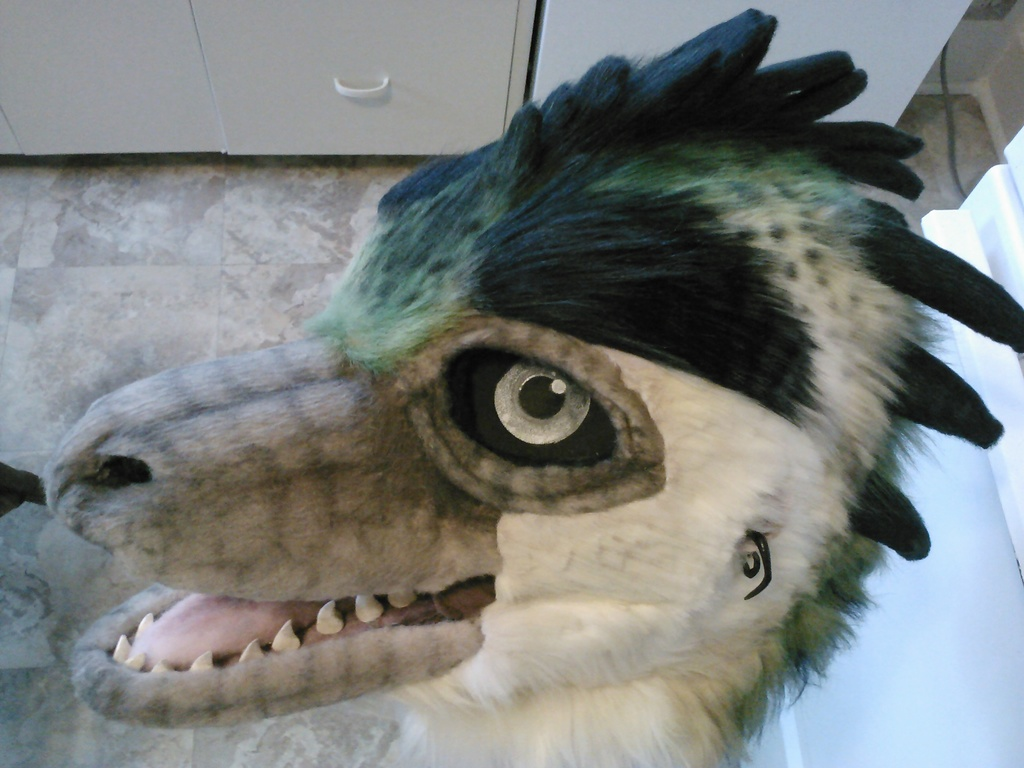 Littlerock (fursuit head)