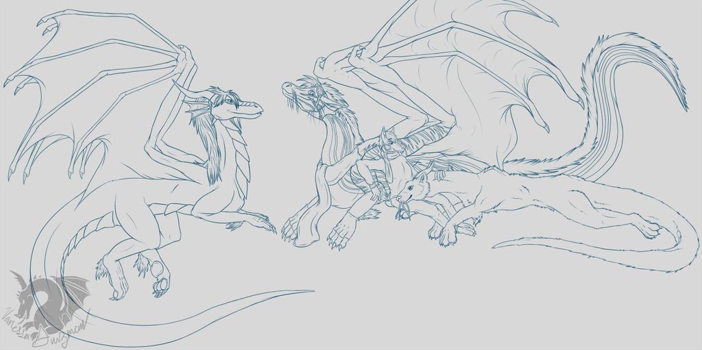 Lazing Dragons [Gift]