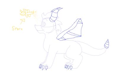 Quick Spyro sketch