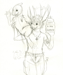 Jackalopes Know How to Party! - by LustBubbles