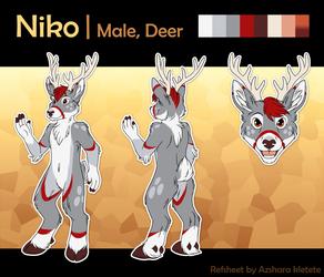 [C]Niko reference sheet