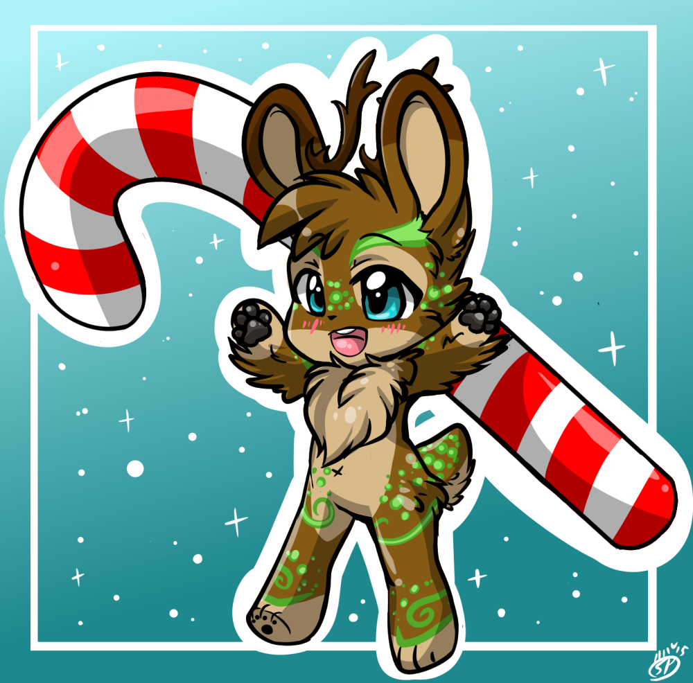 It's a Candy Cane Christmas (by SierraFox)