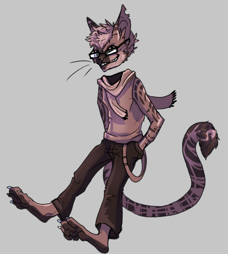 Hipster Cheshire Cat