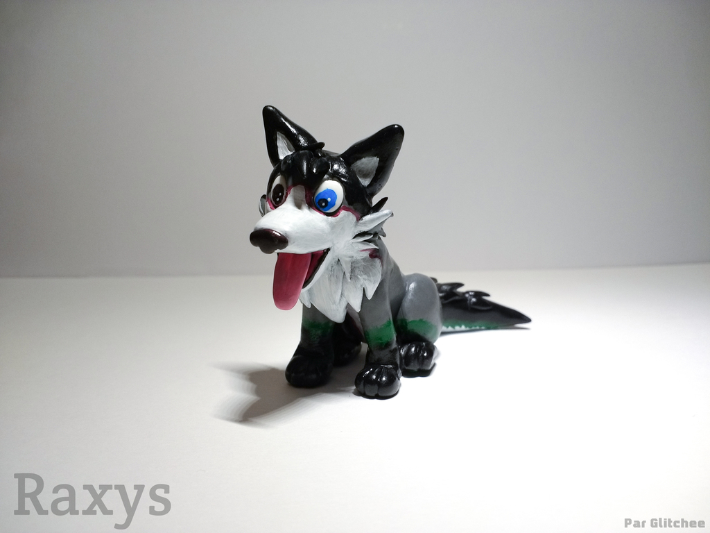 Most recent image: Raxys the husky
