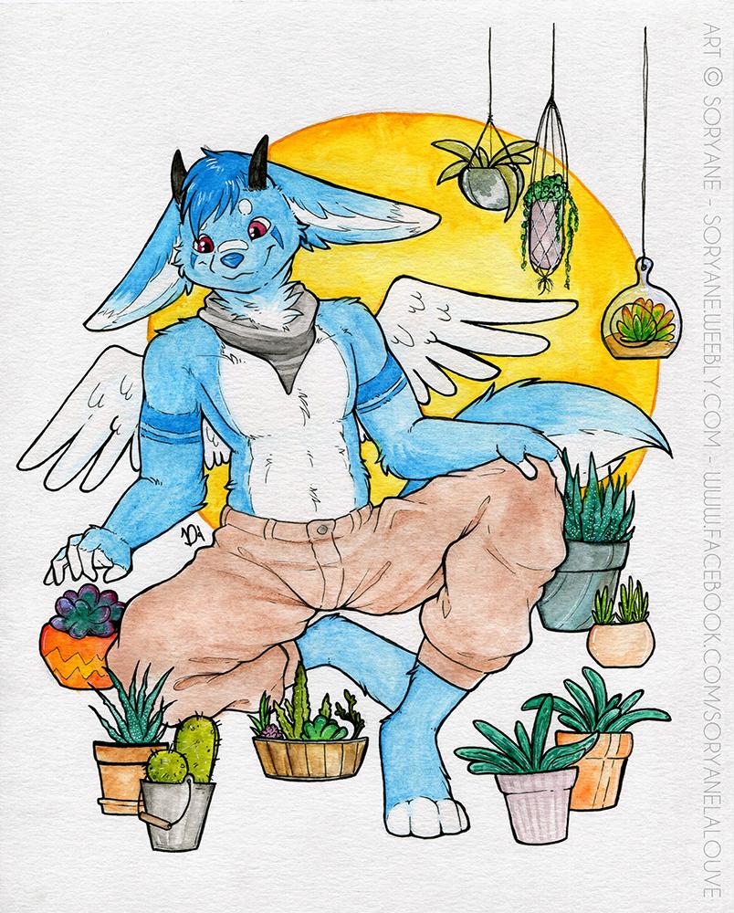 Rant - 8x10 Watercolour