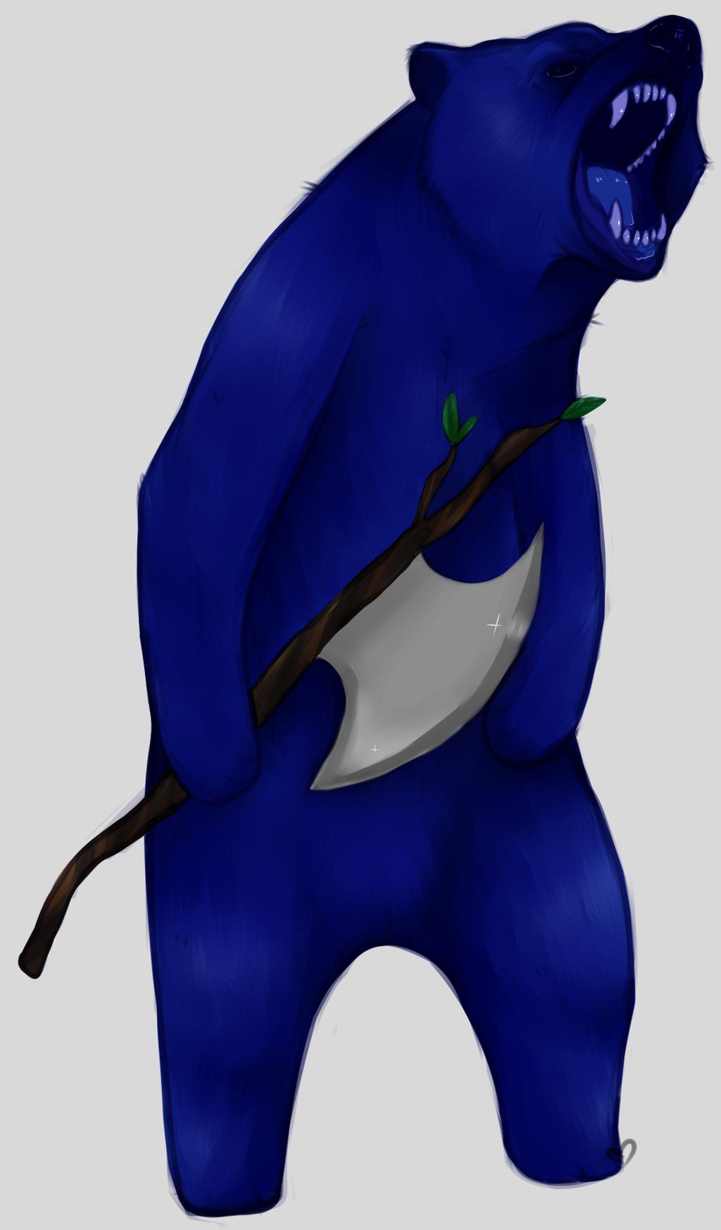 Grumpy Bear.