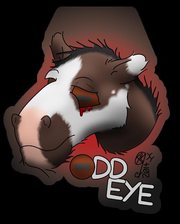 Odd Eye - Conbadge Exchange, October 2014