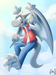 Silver in the sky