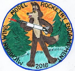 Model Rocketry Flight Emblem