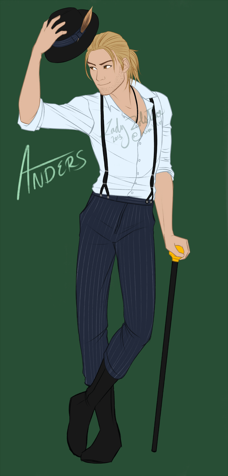 Dragon Age - Modern Anders