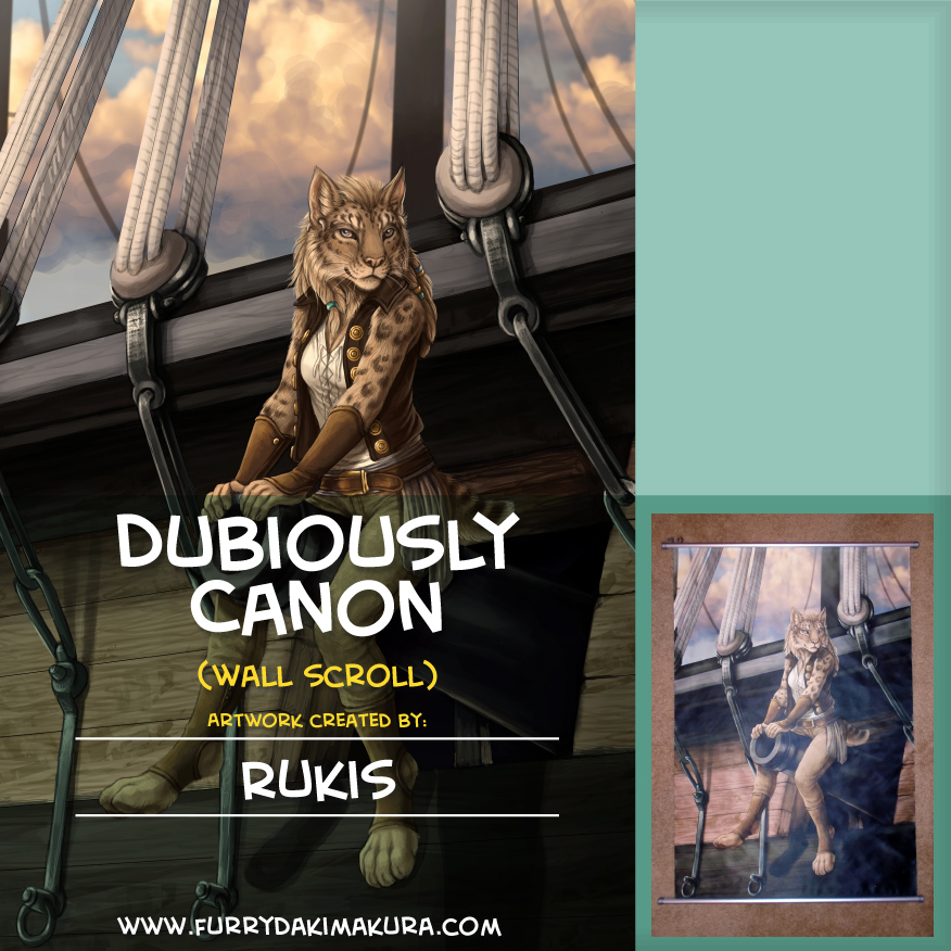 Most recent image: Dubiously Canon Wall Scroll by Rukis