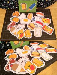 Blind Bag Food Stickers