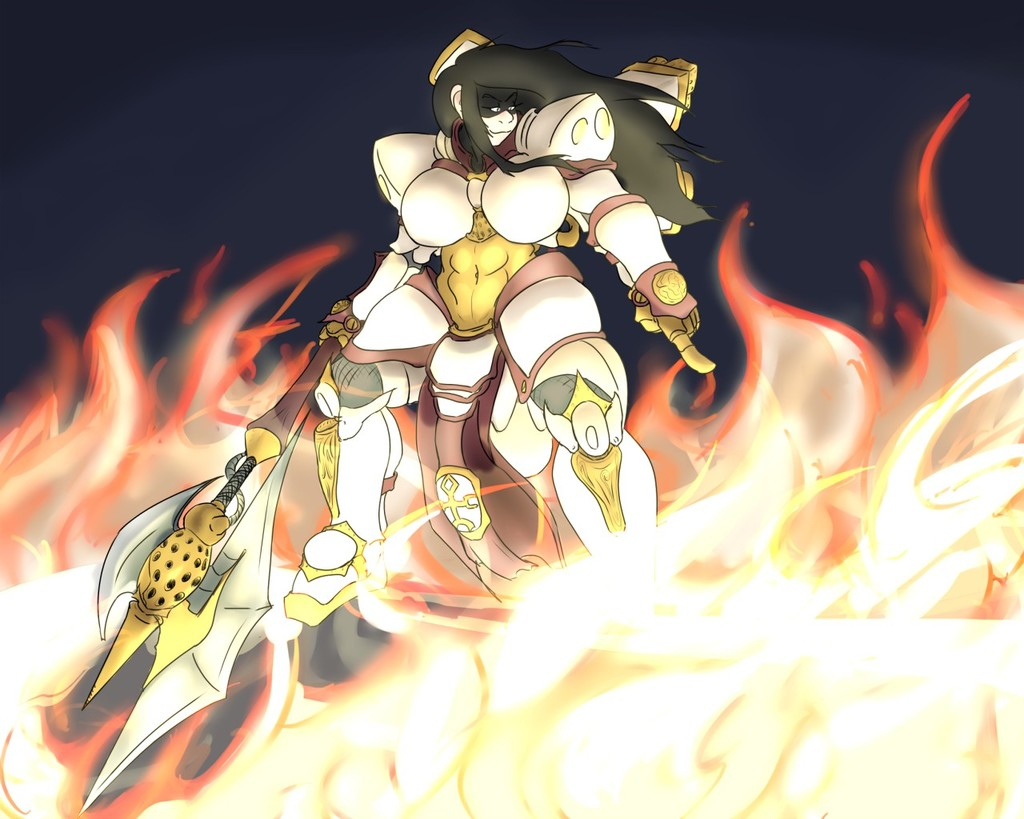 Most recent image: commission: By fire be purged