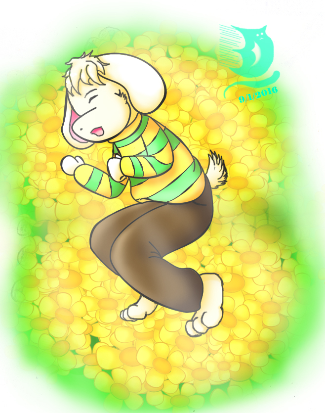Undertale Asriel 3: sleep boy