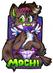 Mochi Badge (Commission)