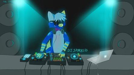 DJ Sparkles by Aethy