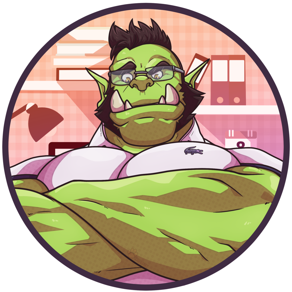 Office Orc Icon