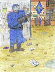 """Gendarmie Colored"""