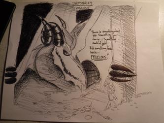 "INKTOBER #9 : "" PRECIOUS """