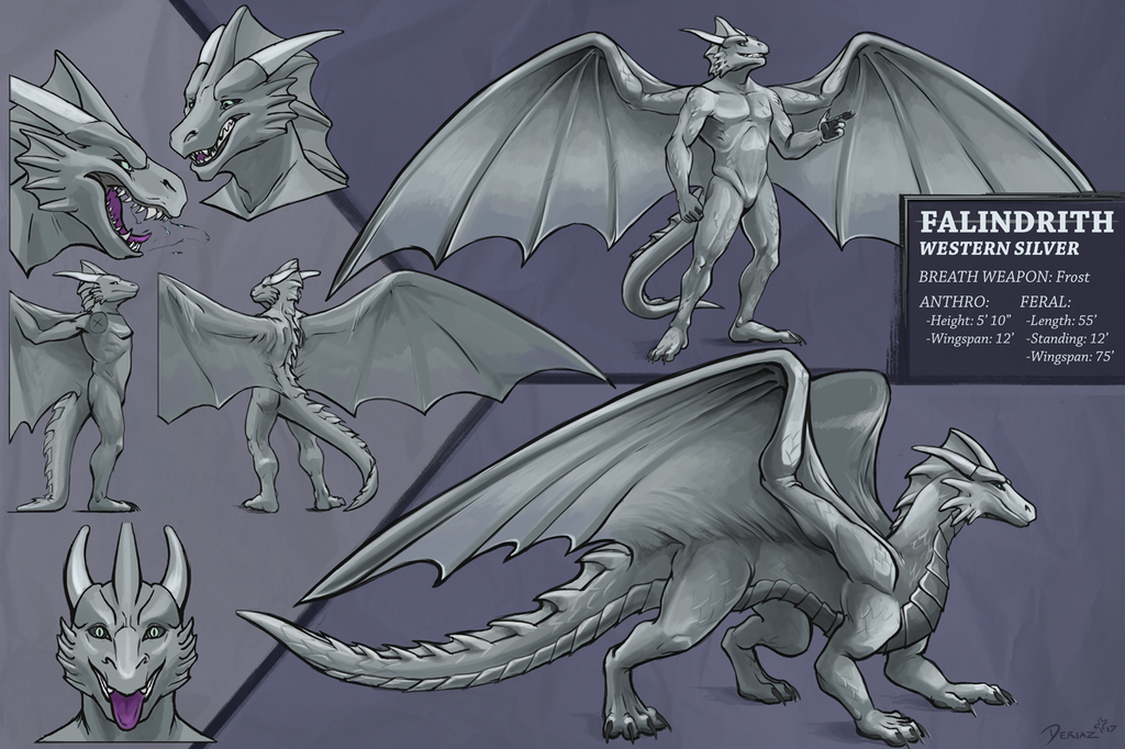 Most recent image: Falindrith Reference Sheet