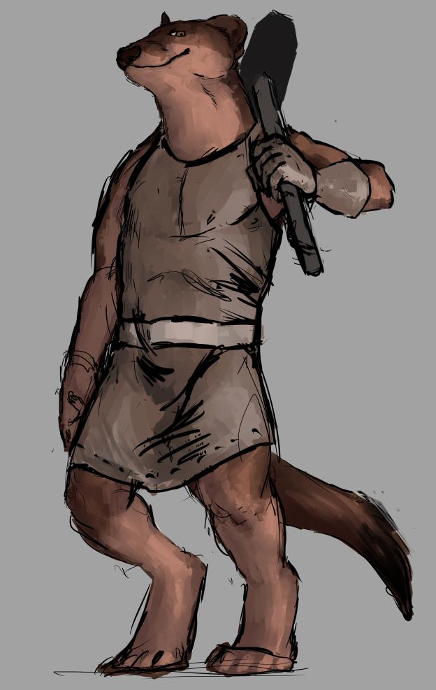 blacksmith stoat