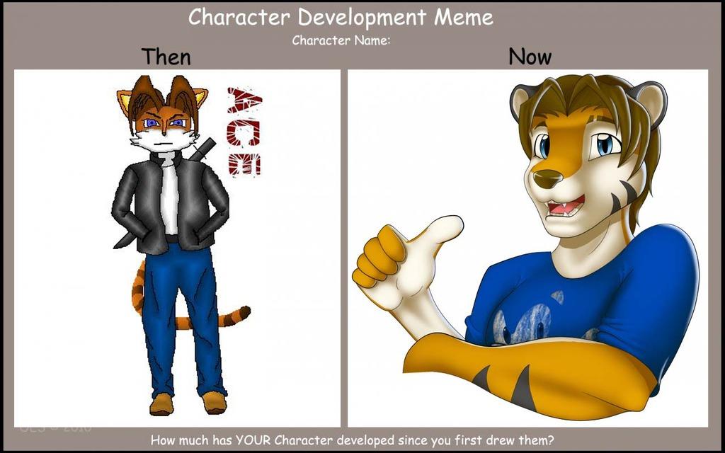 Character Developement Meme