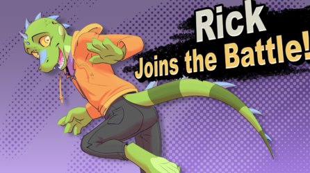 Rick Joins the Battle
