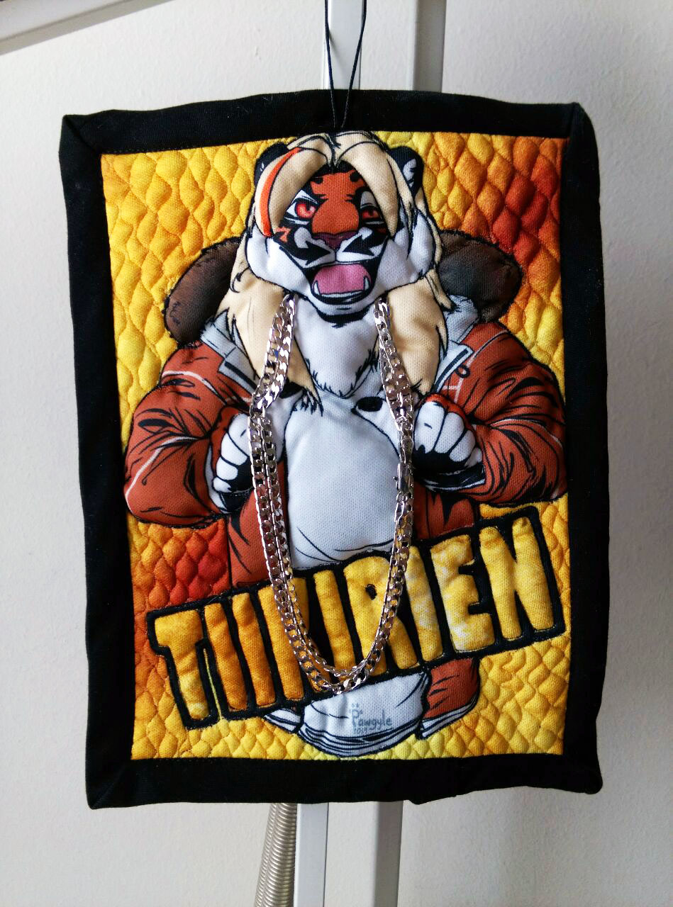 Quilted badge for Tiikirien