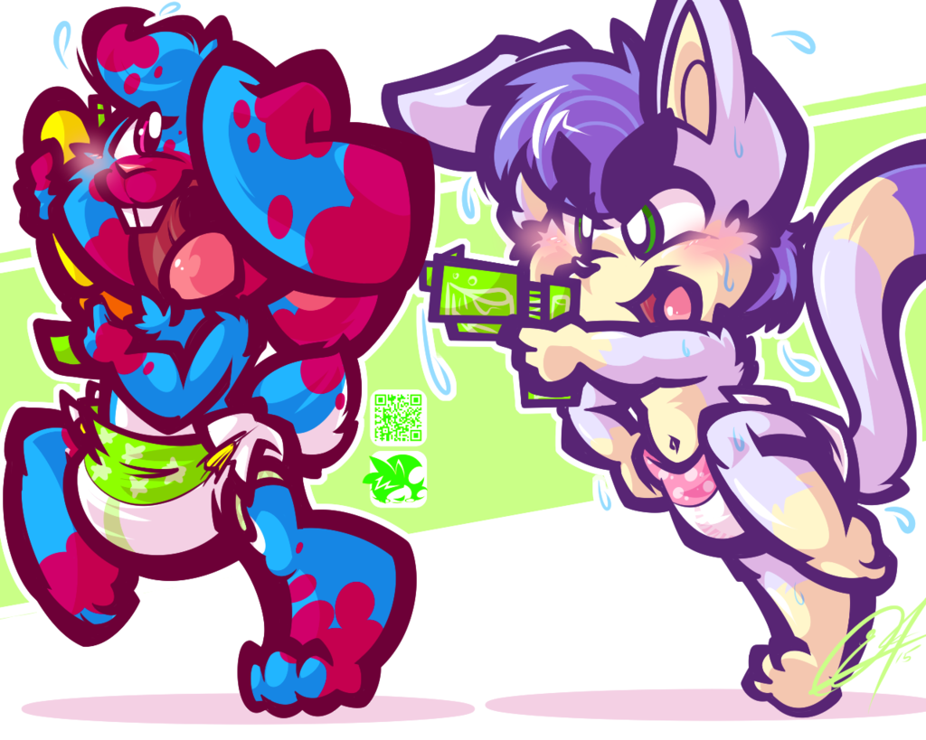 Most recent image: [CHUMMISSION] - SOGGY FIGHT