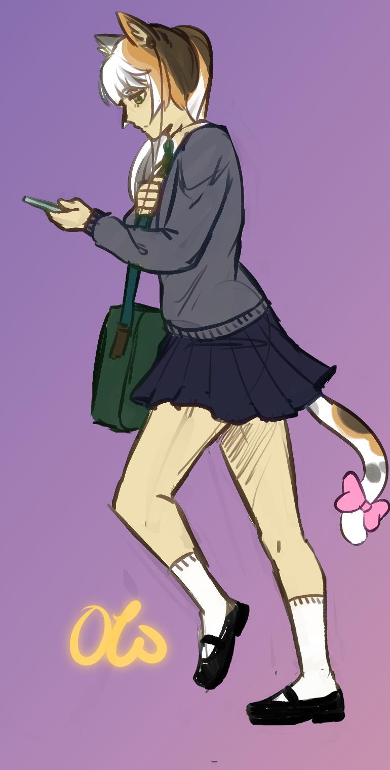 [Patreon Reward] - To School!